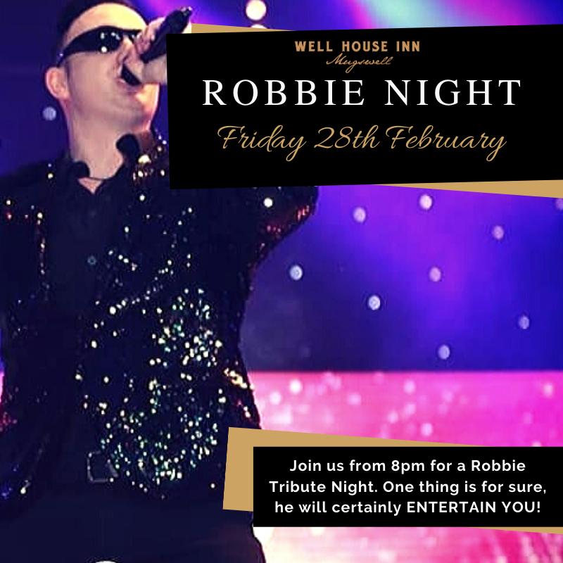 Robbie Tribute Night